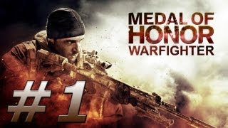 Medal of Honor: Warfighter Gameplay Walkthrough - Part 1 (PC) Ultra Settings GT 650M Asus N76