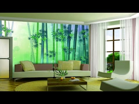 70 Attractive Wall Painting Designs Ideas 2017, Stylish Living Room Decoration