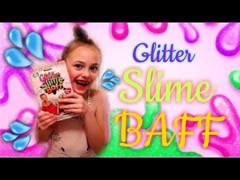 Glitter Slime Baff 🤪💦/ Bathtime fun with gtiller slime ▶15:33