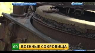 Под Петербургом нашли уникальный склад военной техники времен ВОВ