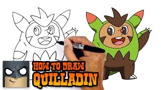 How to Draw Quilladin | Pokemon