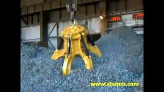 STEMM Orange Peel Grab for Scrap
