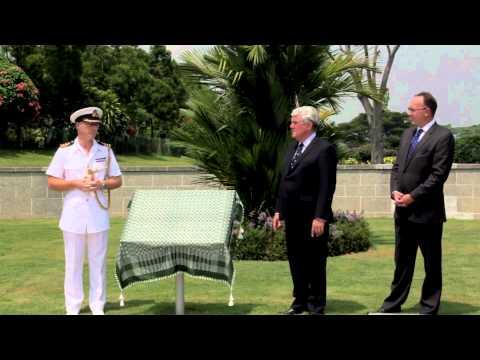 CWGC Information Panel (Singapore)
