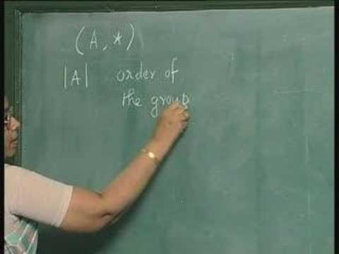 Lecture 36-Algebras(contd...)