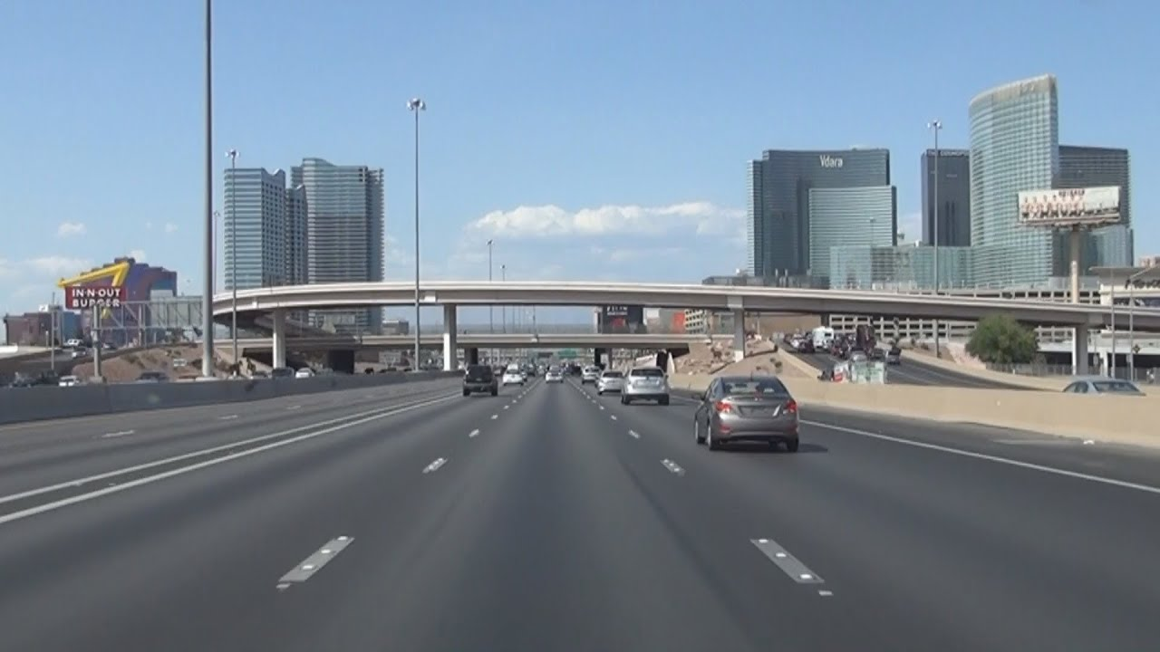 Interstate 15 In Las Vegas Nevada Youtube