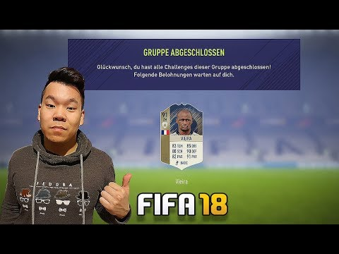 WIR SCHLIEßEN DIE PRIME VIEIRA SBC AB!! FIFA 18 RTG#85