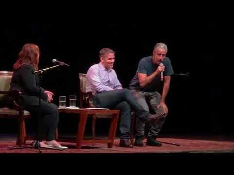 Q&A with Jon Stewart & Josh Welle in Red Bank, NJ