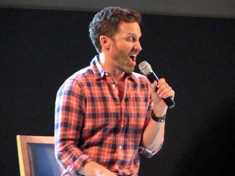 JIB4  Rob Benedict impersonating Mark Sheppard