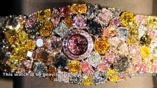Chopard 201 Carat watches 25 million dollars are the most expensive with the use of precious stones