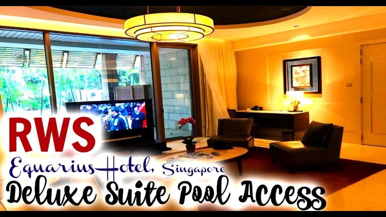 equarius hotela deluxe room function equarius hotel deluxe suite pool access resorts world sentosa singapore sentosa