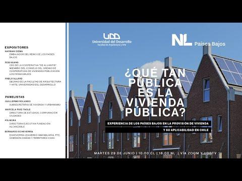 Charla | ¿Qué tan pública es la vivienda pública? Experiencia de los Países Bajos en la provisión de