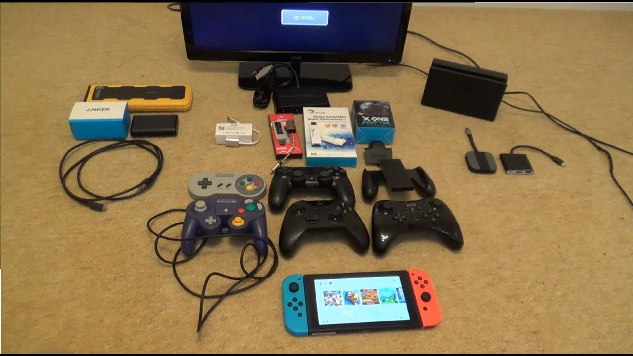Testing 3rd Party Docks / Adapters after Switch 5 0 0 Firmware Update