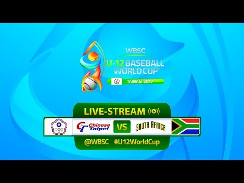 Chinese Taipei v South Africa - U-12 Baseball World Cup 2017