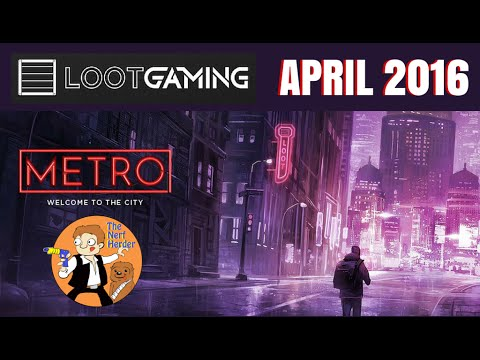 "Loot Gaming ""Metro"" Unboxing & Review - April 2016"