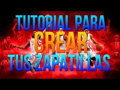 NBA 2K16 | TUTORIAL PARA CREAR TUS PROPIAS ZAPATILLAS