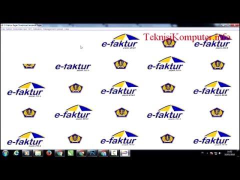 Cara memperbaiki error ETAX-10001:Error Database efaktur pajak