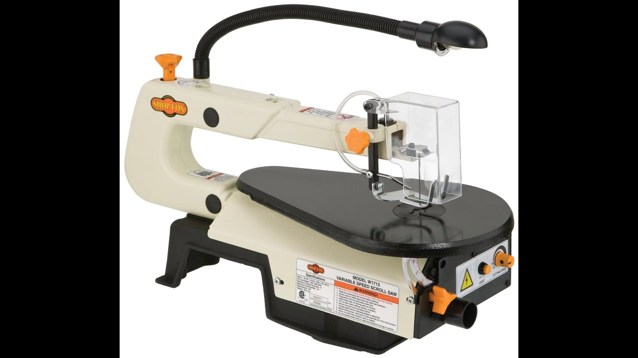 Spec review shop fox w1713 16 inch variable speed scroll saw spec review shop fox w1713 16 inch variable speed scroll saw greentooth Gallery