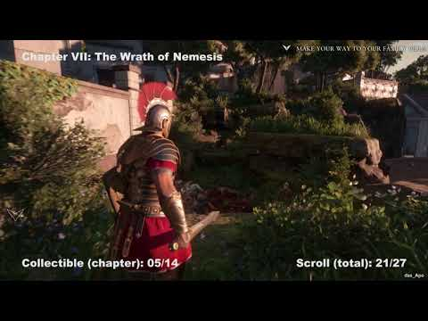 Ryse: Son of Rome - 100% Collectibles Guide - Chapter 7: Wrath of Nemesis - Chronicle/Scrolls/Vistas
