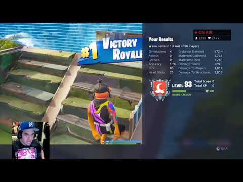 TOP CONSOLE PLAYER // 3500+ WINS // FORTNITE BATTLE ROYALE