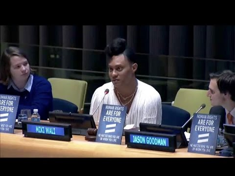 United Nations LGBT Core Group Special Event: Standing Up For LGBTI Youth