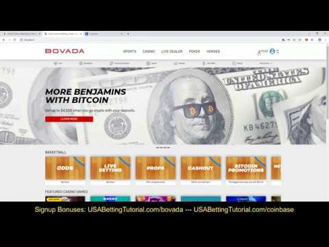 USA Guide How To Bet Online - Bovada Bitcoin Deposit Tutorial Guide Step-by-Step Bonuses
