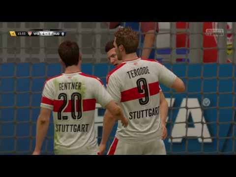 STUTTGART VS HUDDERSFIELD.  Friendly match