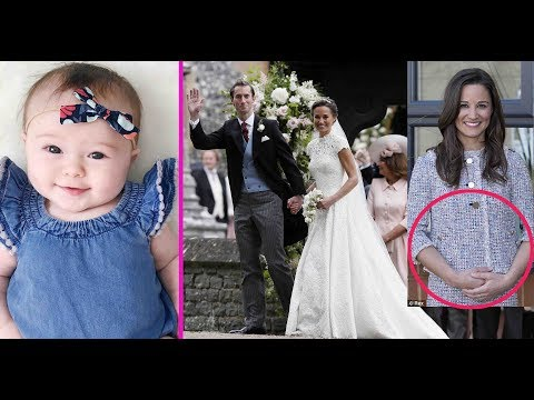 Pippa Middleton announces news of the baby as she reveals she is pregnant with James Matthews