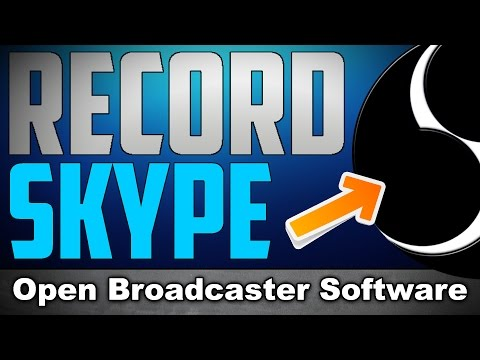 how to add skype audio to obs