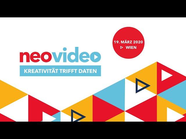 Die neovideo - Österreichs wichtigster Onlinevideo-Kongress