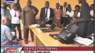 PDP,APC Trade Words At Osun Election Tribunal
