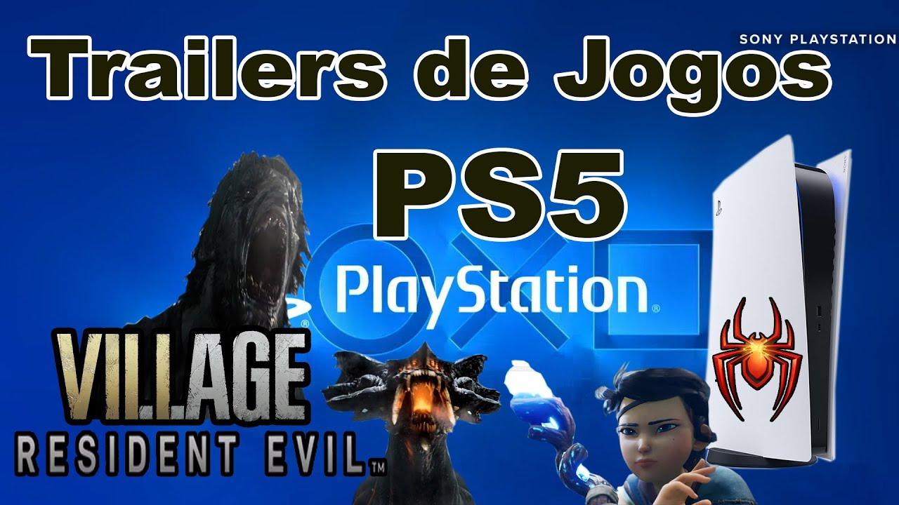 Trailer de Jogos para PS5 Lançamentos de Games Playstation 5 da Sony para os anos 2020 2021 2022