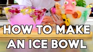 How to Make an Ice Bowl