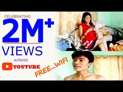 Nepali funny comedy video  FREE WIFI only for laugh ...