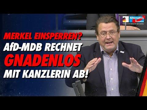 Merkel einsperren? Stephan Brandner rechnet gnadenlos mit Kanzlerin ab! - AfD-Fraktion im Bundestag