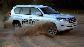 Новый Toyota Land Cruiser Prado 2018. Обзор, тест-драйв.