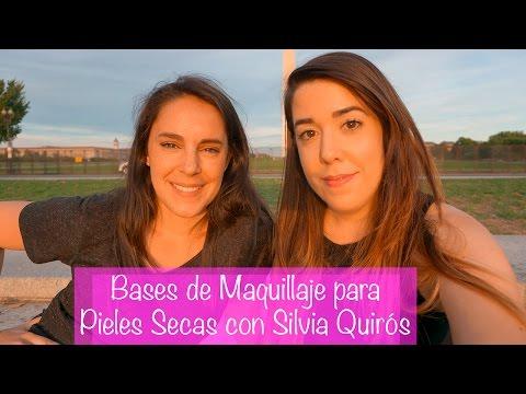 Bases de Maquillaje y Prebases para Pieles secas con Silvia Quirós