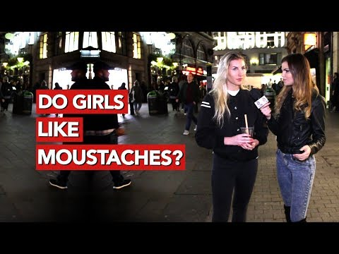 Do girls like moustaches?