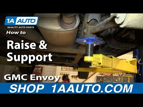 How To Raise Support 02 09 Gmc Envoy Youtube