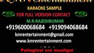 PALINGUNAAL ORU MALIGAI - VALLAVAN ORUVAN (VIDEO KARAOKE) TAMIL KARAOKE BY KMR ENTERTAINMENT