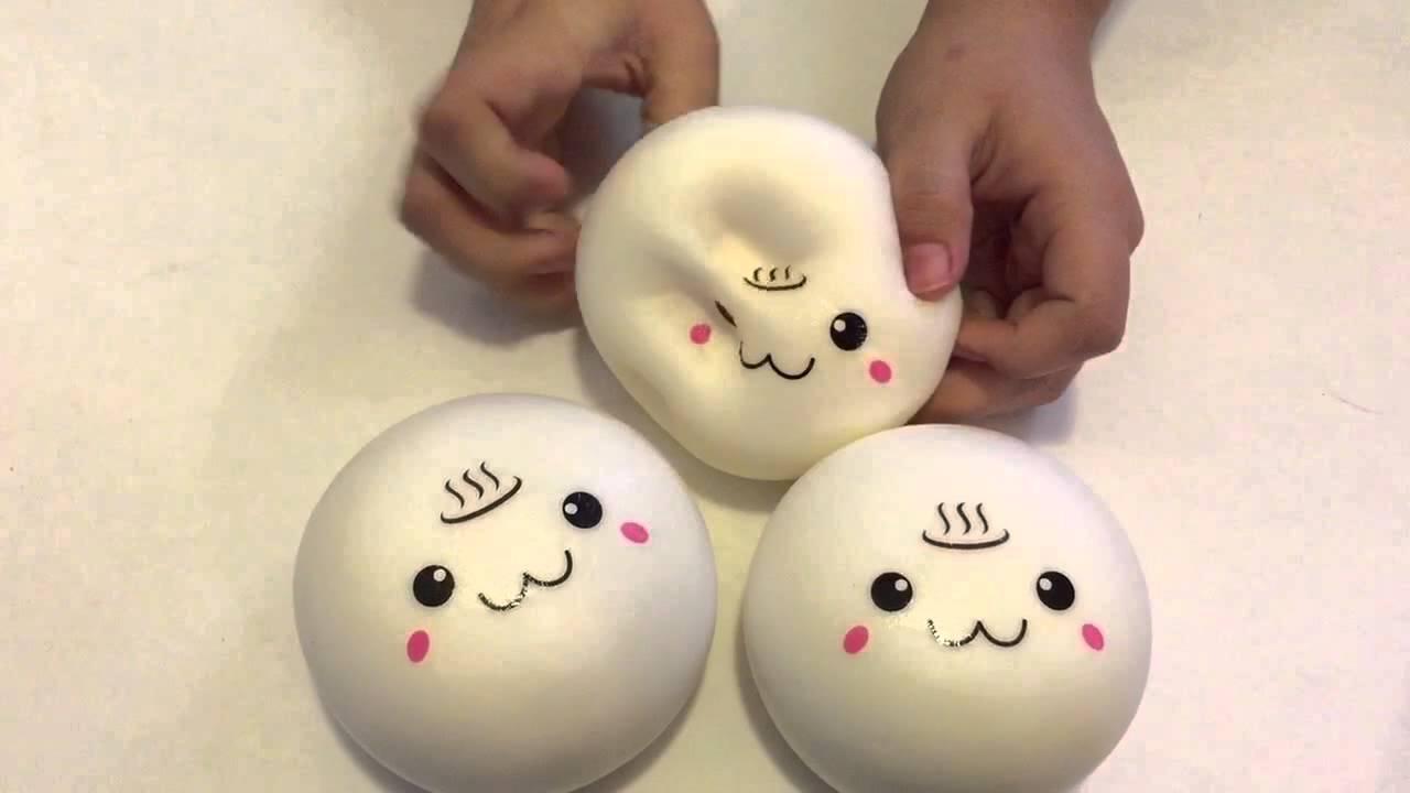 Steam Bun Squishy Kawaii Land : Kawaii Steam Bun Squishy - YouTube