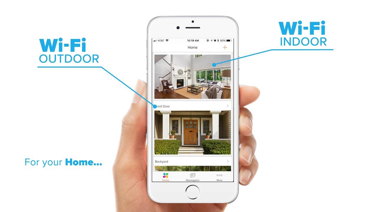 EZVIZ   All-in-one access with the EZVIZ App on your Phone