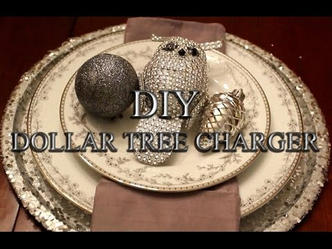 How to make Sparkling Silver Glamorus Chargers for your TABLESCAPE 2016