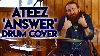 Download lagu ATEEZ (에이티즈)- 'ANSWER' - Drum Cover 드럼커버