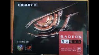 Прошивка Gigabyte Radeon RX580 Gaming 8G на чипах samsung