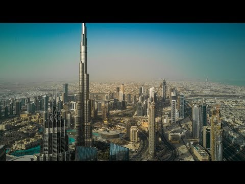 Dubai Downtown Panorama 🚁