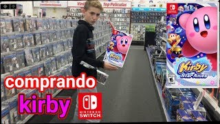Comprando Kirby Star Allies + Amiibo para NINTENDO SWITCH