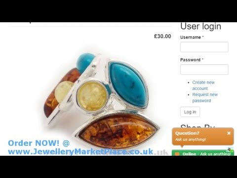 www.JewelleryMarketPlace.co.uk Live Stream Product Preview
