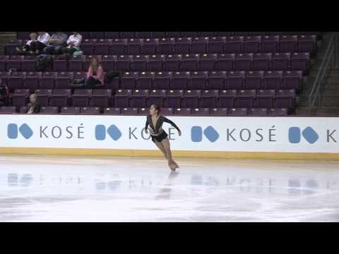 2015 ISU Jr. Grand Prix- Colorado Springs Ladies Free Skate Amy LIN TPE