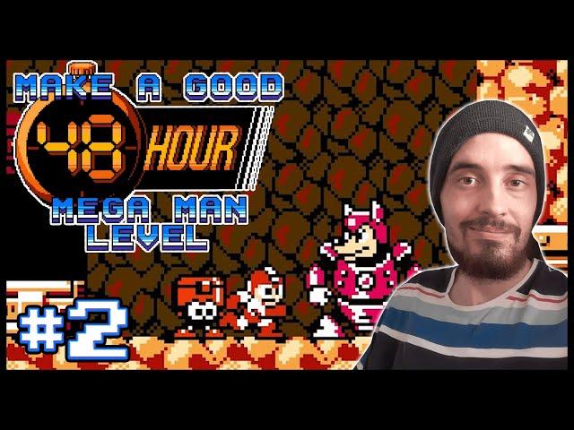 Make a Good 48 Hour Mega Man Level [2] - WEAPON TUTORIALS!