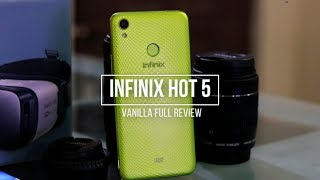 Infinix Hot 5 - Honest Review